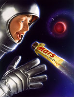 National ad campaign for MARS CANDY